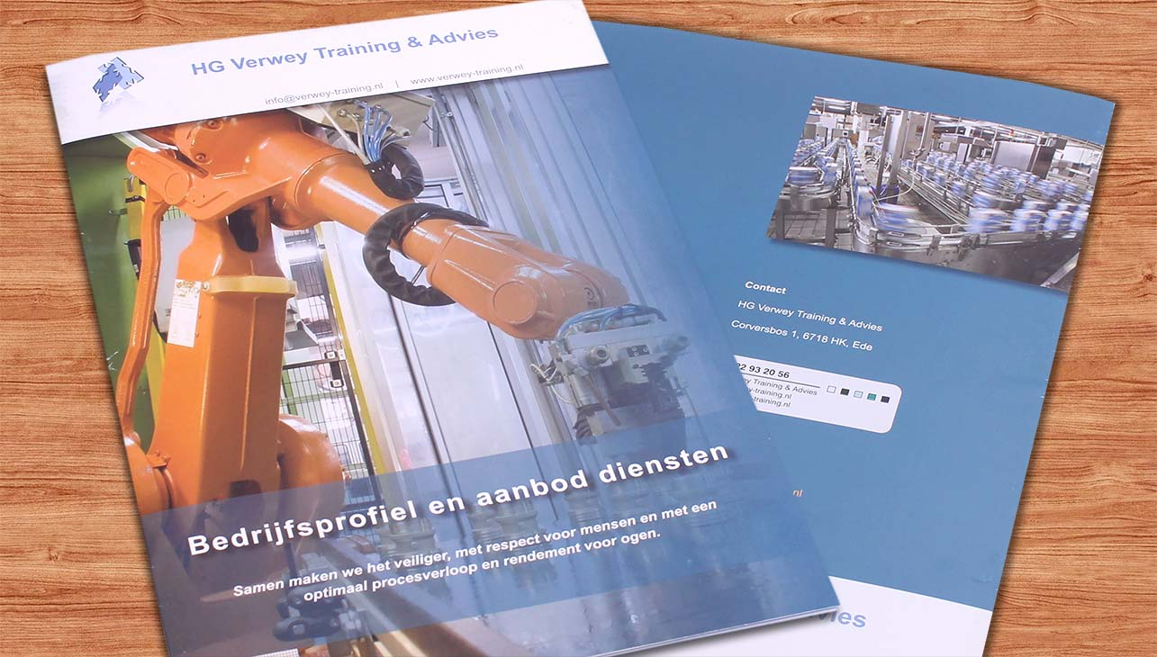 A4 Brochure Verwey Training